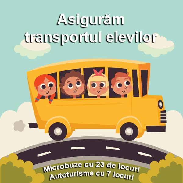 Transport elevi afterschool Timisoara